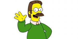 THE SIMPSONS, Ned Flanders, 1989-present. TM and Copyright © 20th Century Fox Film Corp. All rights reserved.
